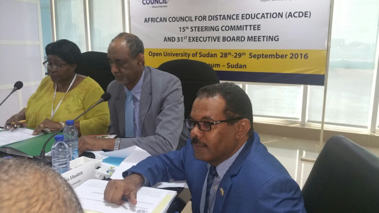 Al-Neelain Universiy Deputy Vice-Chancellor represents the University ‎in the ACDE meeting